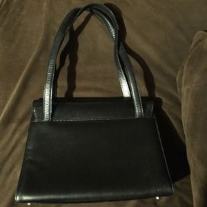 Salvatore Ferragamo Bags - Salvatore Ferragamo Authentic Vara Black Leather